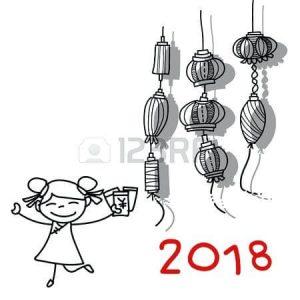 dibujos de feliz año nuevo bonitos