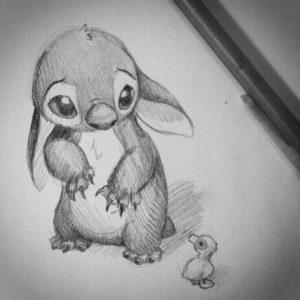 dibujos de lillo y stitch