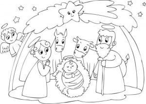 dibujos del nacimiento de jesus 2018