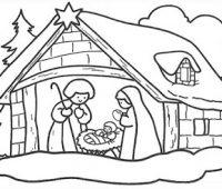 Dibujos del nacimiento de Jesús