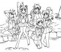 Dibujos de Sailor Moon