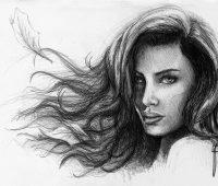 Dibujos a Lápiz de Mujeres