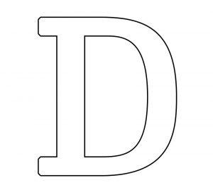 Dibujos A Lápiz Que Empiecen Con Letra D Listos Para Imprimir
