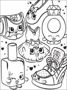 Dibujos De Shopkins A Lápiz Para Imprimir Lo Amarán Los Peques
