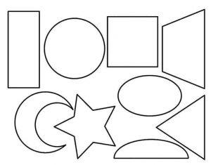 Dibujos con figuras Geométricas gratis