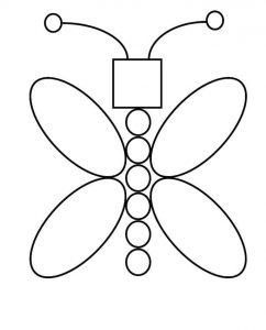 Dibujos con figuras Geométricas para compartir