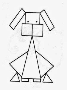 Dibujos con figuras Geométricas para descargar