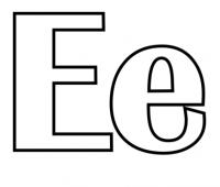 Dibujos con E
