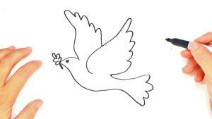 dibujos a lápiz de la paz