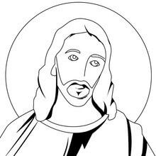 dibujos de jesús a lápiz