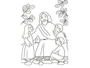 dibujos de jesús cristianos