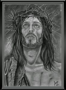 dibujos realistas de Jesús