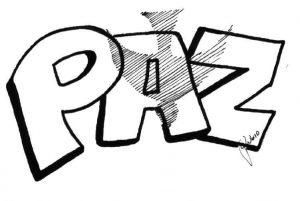 Dibujos De La Paz Hechos A Lápiz Ideal Para Los Niños