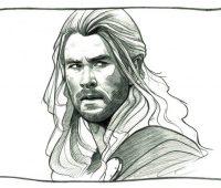 Dibujos de Thor