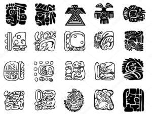 dibujos de mayas