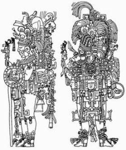 dibujos de mayas a lápiz
