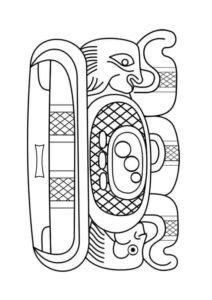 dibujos de mayas para imprimir