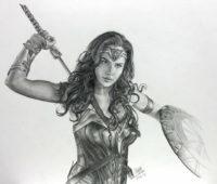Dibujos de Wonder Woman