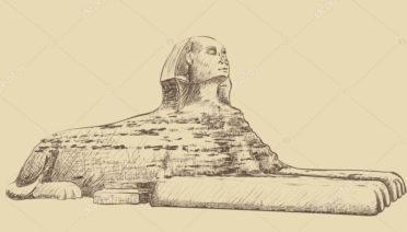 dibujos egipcios en lápiz