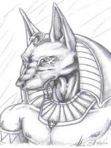 dibujos egipcios para niños