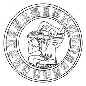 dibujos mayas
