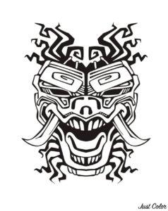Dibujos Mayas A Lápiz Para Imprimir Descargar Fáciles De Hacer