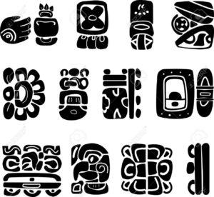 símbolos mayas