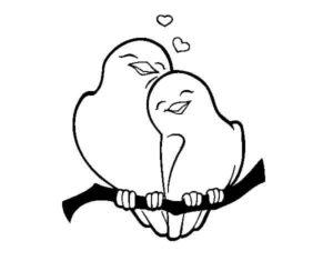 Dibujos Románticos de animles