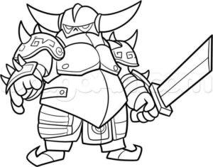 Dibujos De Clash Royale A Lápiz Muy Fáciles Para Dibujar