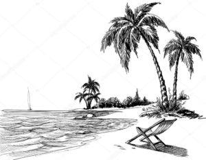 dibujos de playas para descargar