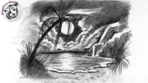 dibujos de playas para imprimir