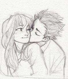 imágenes a lápiz románticas