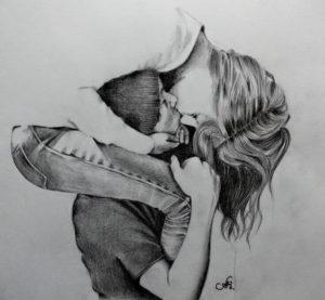 imagenes bonitas romanticas a lápiz
