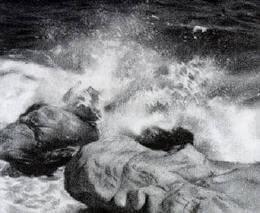 dibujo del mar