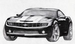 dibujos de autos realistas