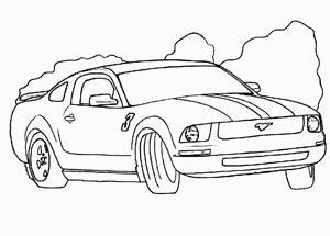 dibujos de carros a lápiz