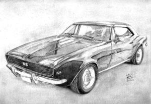 dibujos de carros para compartir