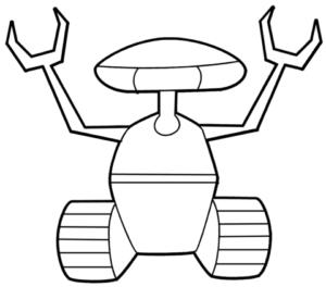 dibujar robots