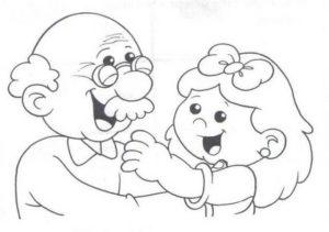 dibujos de abuelitos