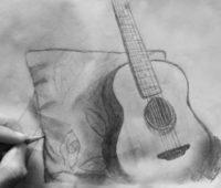 Dibujos de Guitarras