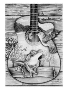 dibujos de guitarras chidos