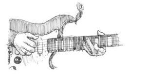 dibujos de guitarras eléctricas