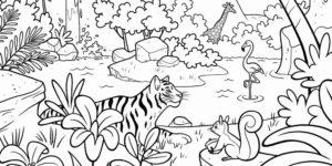 dibujos de selva