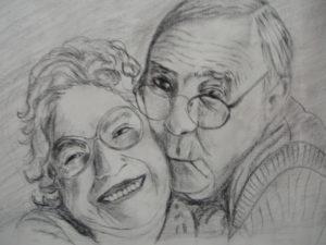 retratos de abuelos