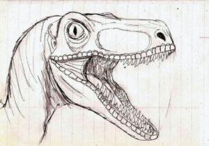 Dibujos de Dinosaurios para dibujar
