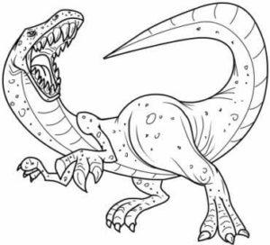 dibujos de dinosuarios para imprimir