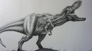 dibujos de dinosuarios realistas