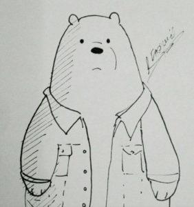 dibujos de escandalosos a lápiz
