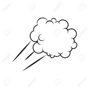dibujos de nubes paisajes