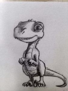 dinosaurios bonitos